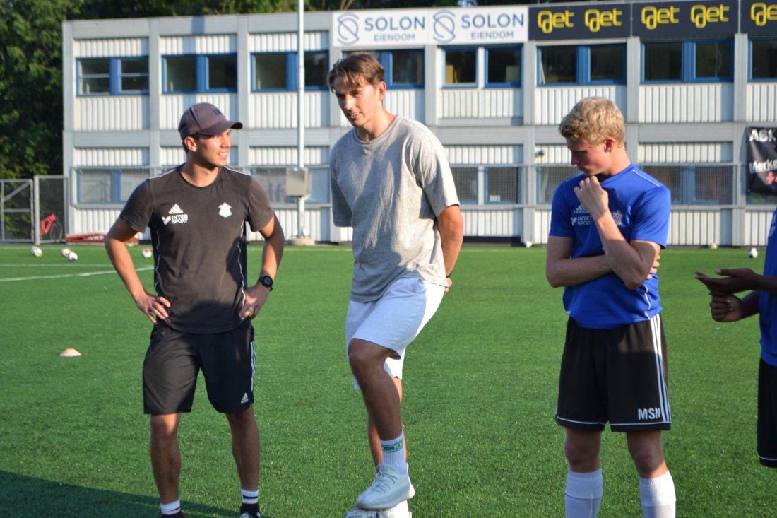 Sander - Skarholm og Matias snakker med G04